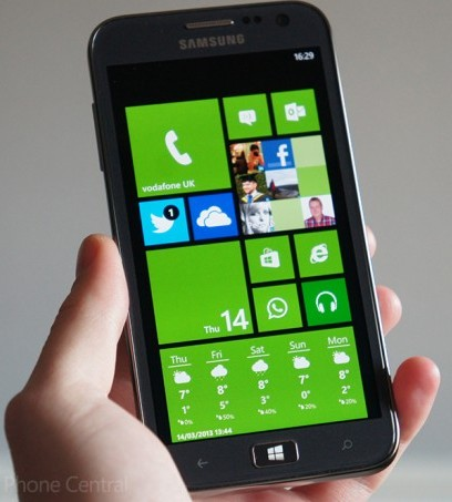 Samsung's Flagship Windows Phone 8 Review