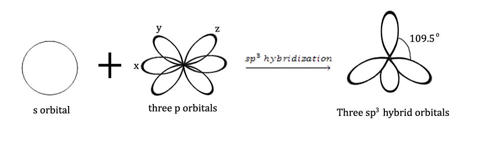 sp3 hybridization