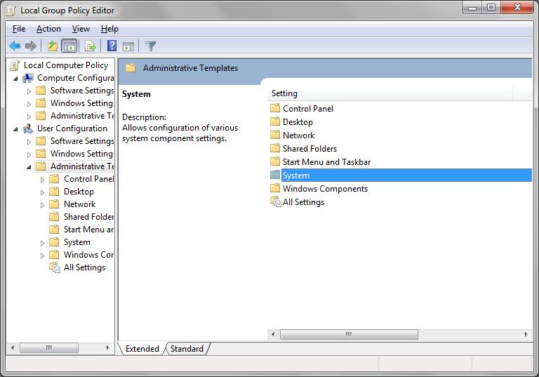 Enabling or Disabling Task Manager_6