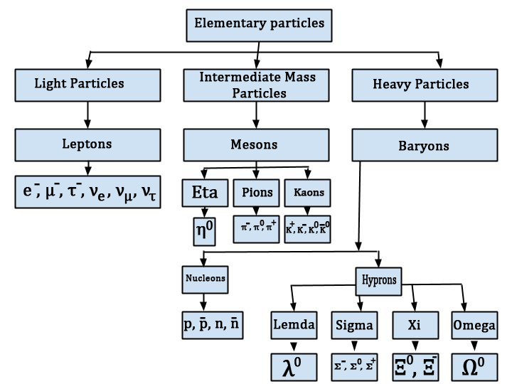 Classification of Elementary Particles